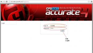 Login Register ACCURATE 4