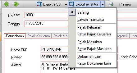 Import Transaksi ke E-Faktur Dari ACCURATE