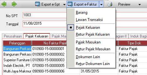 Import Transaksi ACCURATE ke E-Faktur 11