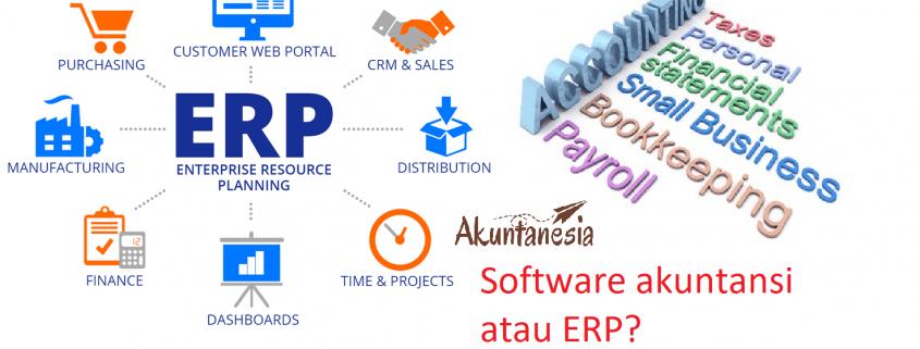 Perbedaan Software Akuntansi dan ERP