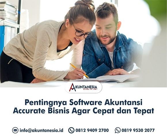 9. Pentingnya Software Akuntansi Accurate Bisnis Agar Cepat dan Tepat