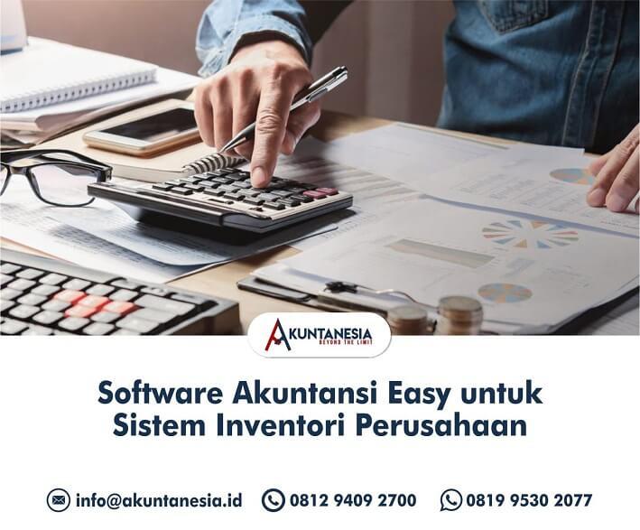 42. Software Akuntansi Easy untuk Sistem Inventori Perusahaan