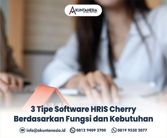 1. 3 Tipe Software HRIS Cherry Berdasarkan Fungsi dan Kebutuhan
