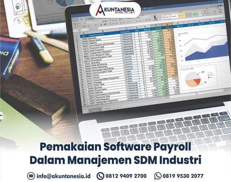 24. Pemakaian Software Payroll Dalam Manajemen SDM Industri