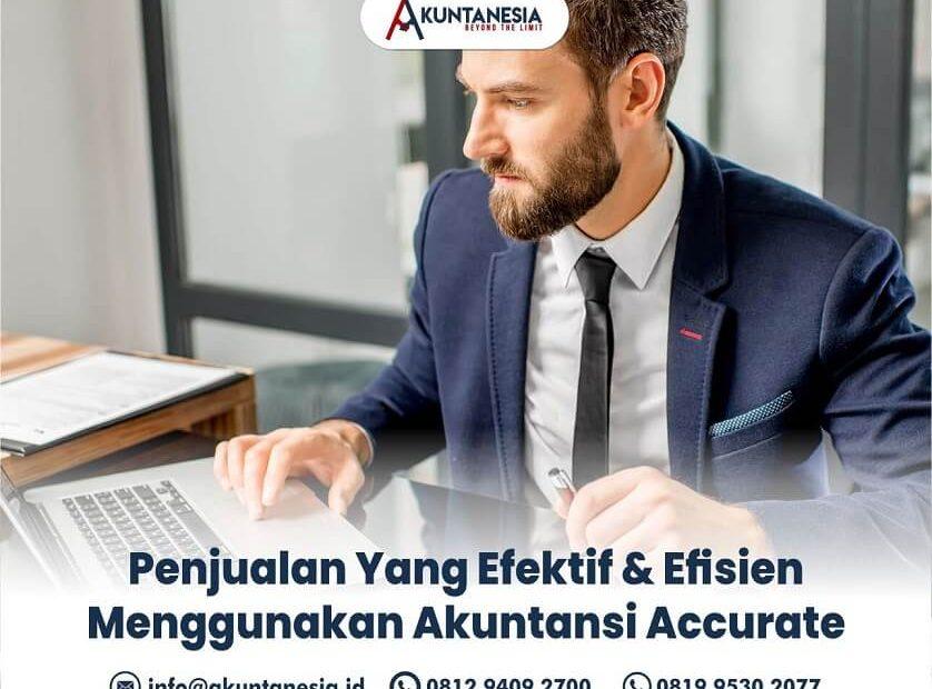 57. Penjualan Yang Efektif & Efisien Menggunakan Akuntansi Accurate