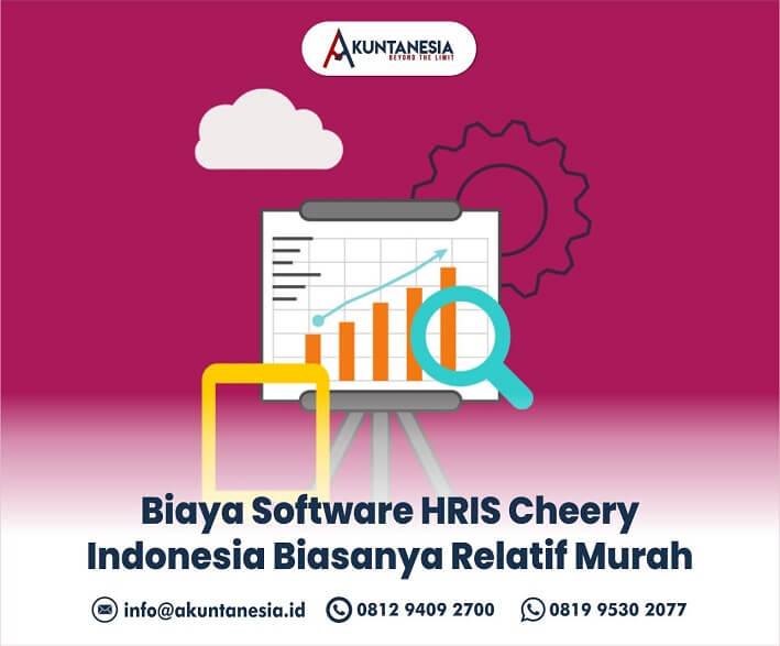 7. Biaya Software HRIS Cheery Indonesia Biasanya Relatif Murah
