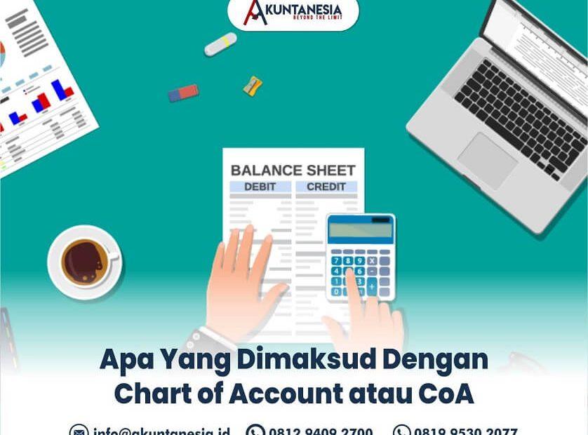 5. Apa Yang Dimaksud Dengan Chart of Account atau CoA